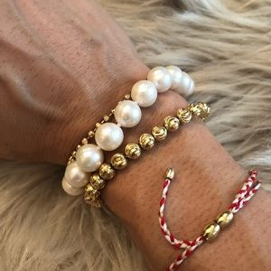 Jewelry - New freshwater pearl and sterling silver bracelet